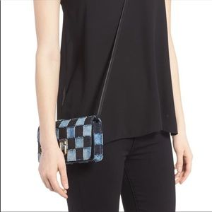 Marc Jacobs convertible cross body clutch NWT